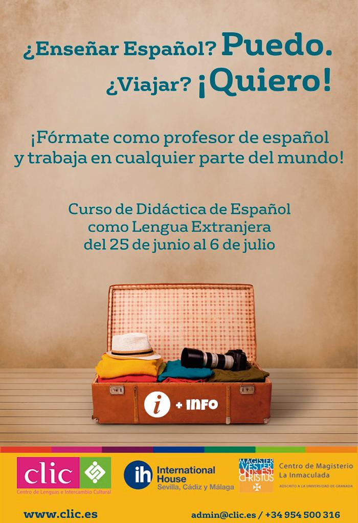 Curso de didáctica de español como lengua extranjera