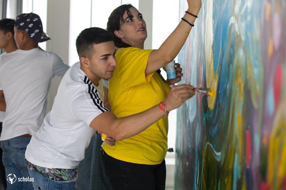 Scholas-Voluntarios-Granada-arte-y-juego-6