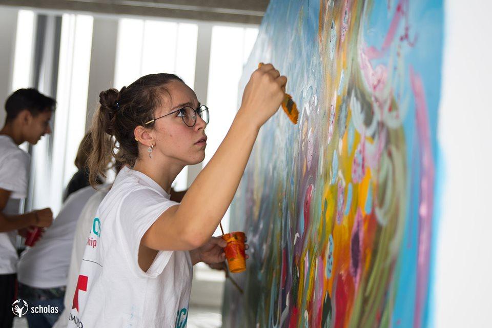 Scholas-Voluntarios-Granada-arte-y-juego-4