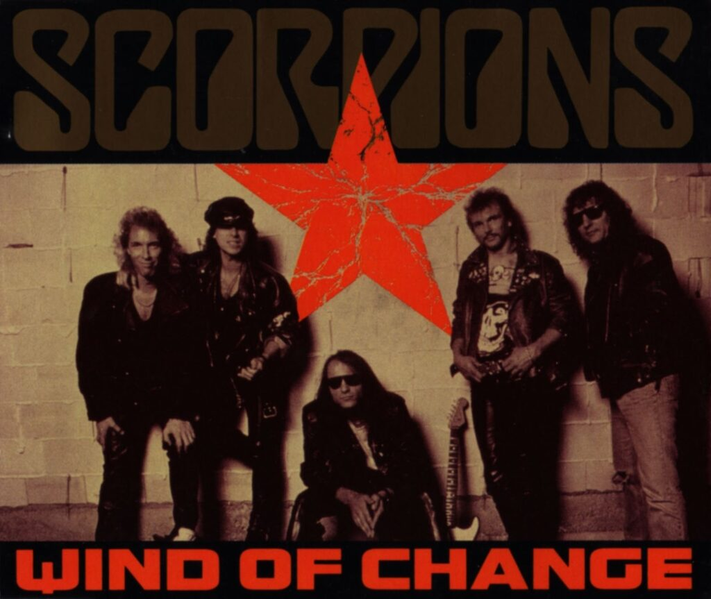 SCORPIONS-Wind of change-Mercury-Records