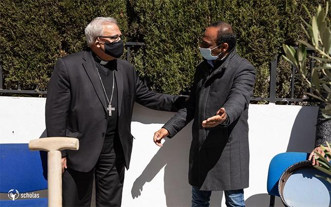 arzobispo-Javier-y-Muhammad-Kaleem