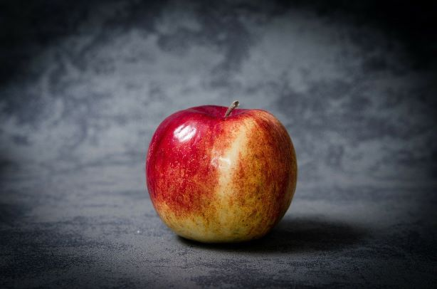 foto-manzana-roja